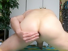 Anal fuck penis and cumming...
