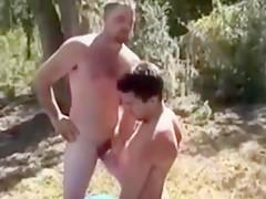 Straight guys playing