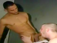 Guy with fetish cock fucks lucky bottom