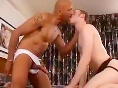 Ebony Creampie White Ass
