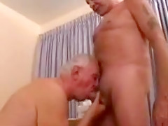 Old guys have hotel sex