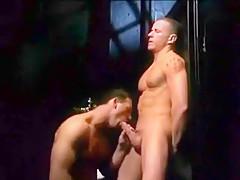 Muscular men that love anal