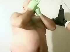 Fisting huge dildo chubs