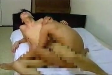 Exotic male in incredible asian gay porn video