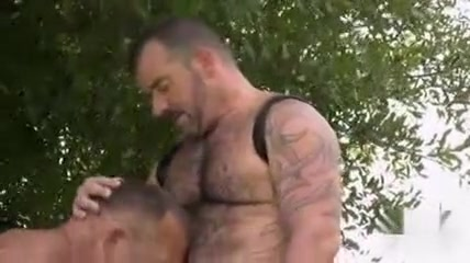 Horny male in fabulous oldy, bears gay porn movie