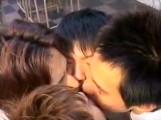 Amazing male in crazy group sex, asian gay adult clip