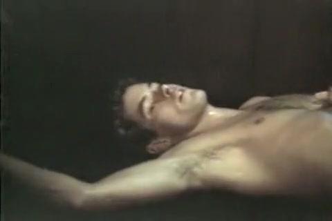 Incredible male in fabulous bareback, vintage homosexual sex movie