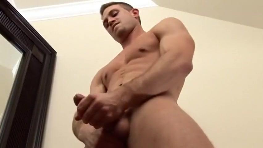 Horny male pornstar Max Hammer in hottest masturbation, solo male gay xxx clip